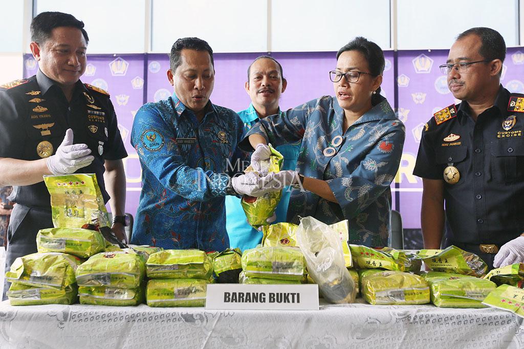 Bea Cukai-BNN Gagalkan Penyelundupan 40 Kg Sabu