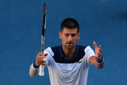 Novak Djokovic. (Foto: AFP/Saeed Khan)