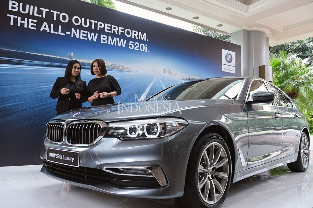 All-new BMW 520i Resmi Mengaspal di Tanah Air
