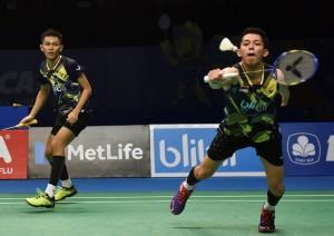Fajar/Rian Tembus Semifinal Malaysia Masters 2018
