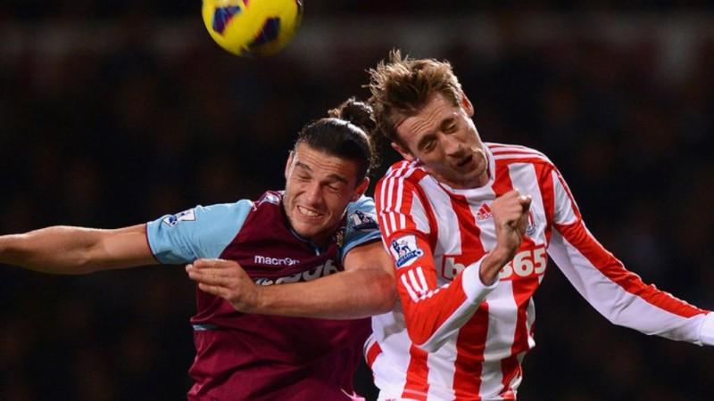 Andy Carroll (kiri) dan Peter Crouch (kanan). (Foto: Sky Sports).