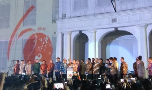 Peringatan 60 Tahun hubungan Indonesia dan Jepang dirayakan di