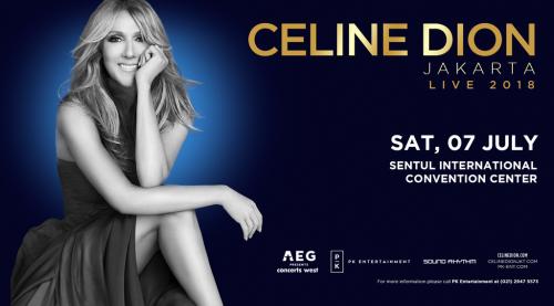 Konser Celine Dion di Indonesia (Foto:dok. pkentertaintment)
