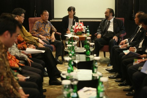 Surya Paloh Ingin Hubungan Indonesia dan Jepang Lebih Erat