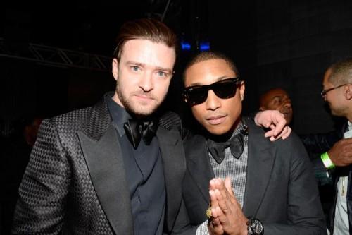 Justin Timberlake dan Pharell William (Foto: gettyimages)