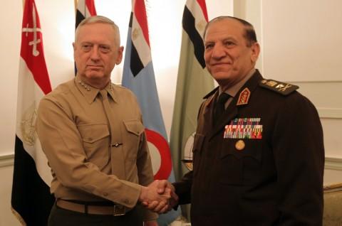 Mantan Panglima Militer Tantang Sisi di Pilpres Mesir