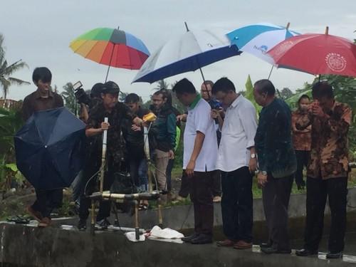 Ketua umum Himpunan Kerukunan Tani Indonesia (HKTI) Jenderal TNI