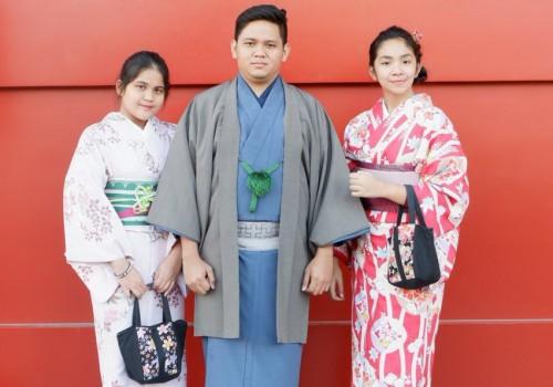 Kimono Jepang (Foto: dok. pribadi)