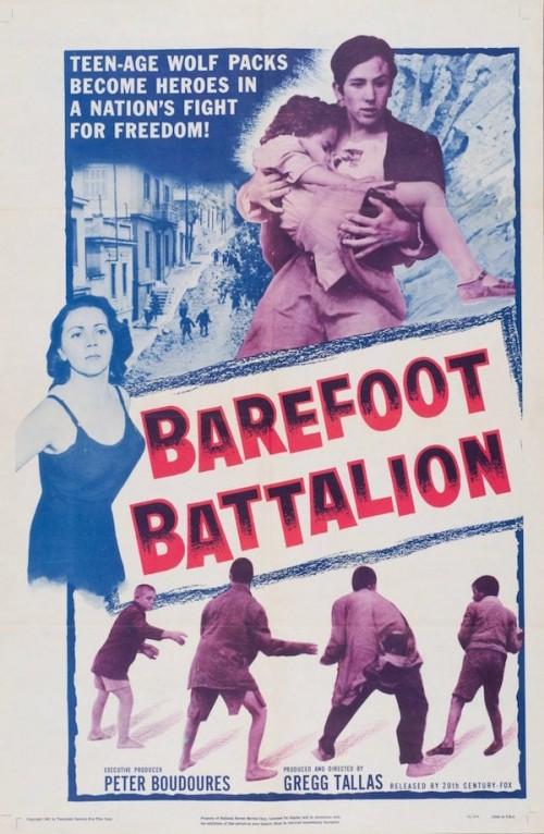 Poster Barefoot Battalion