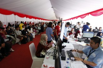 Antusias Warga DKI Buat e-Paspor di Festival Keimigrasian