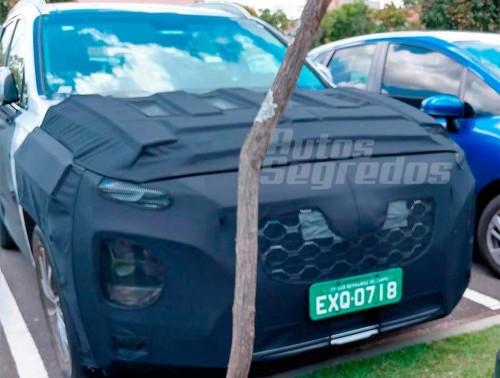 Santa Fe terbaru bakal debut global tahun ini. Autos Segredos