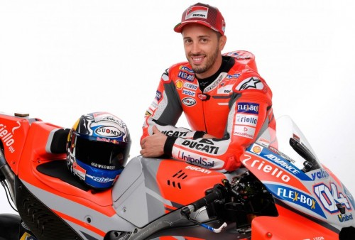 Pembalap Ducati Andrea Dovizioso (Foto: @DucatiMotor)