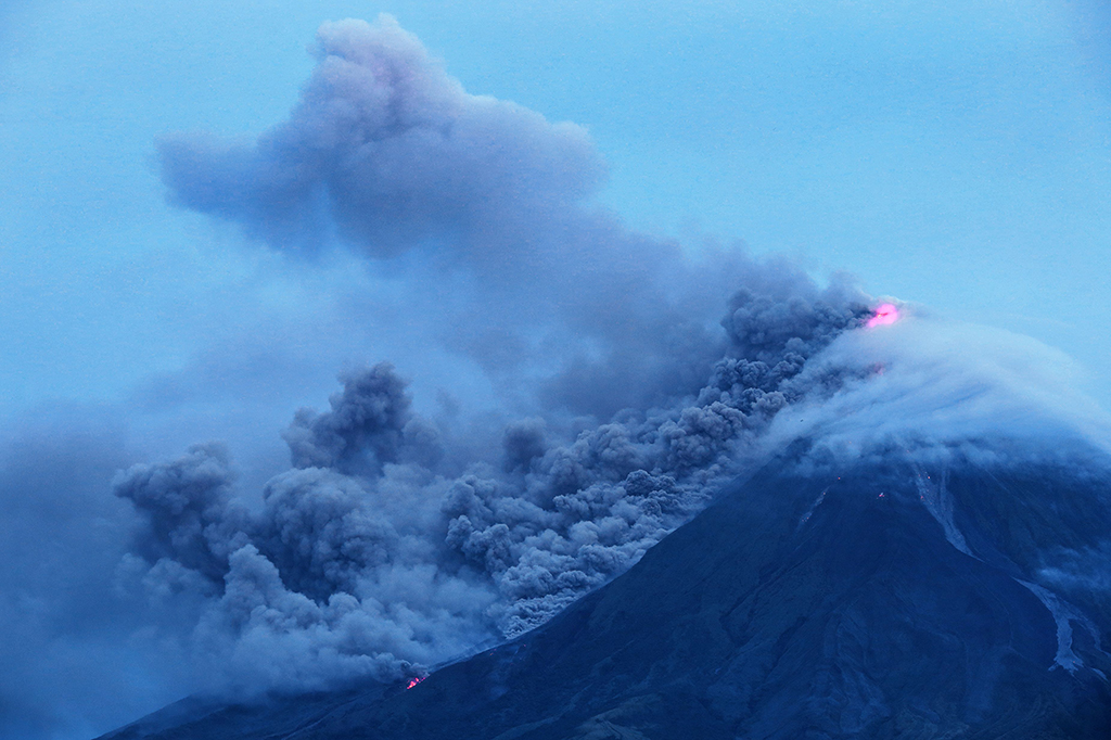 Status Gunung Mayon Filipina Dinaikkan ke Level 4