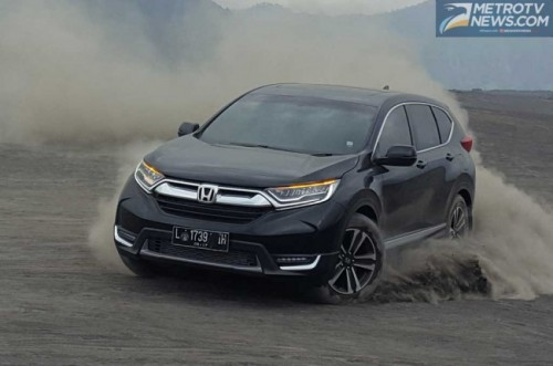 CR-V Turbo jadi doping penjualan Honda di 2017. medcom.id/Ahmad
