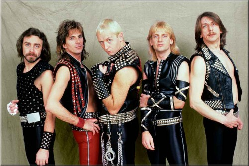 Judas Priest, 1984 (Foto: Ghostcultmag.com/Columbia Records)