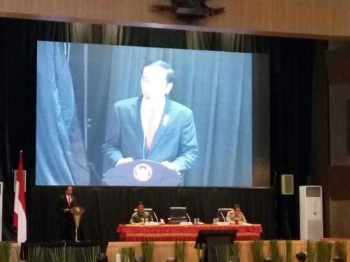 President Joko Widodo (Photo: Medcom.id/Achmad Zulfikar Fazli)