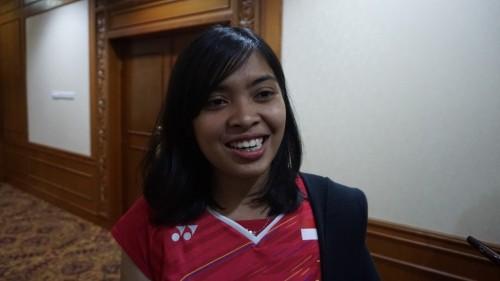 Gregoria Mariska Tunjung (Foto: Kautsar Halim/Medcom.id)