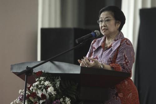 Presiden kelima Indonesia Megawati Sukarnoputri. ANT/M Adimaja.