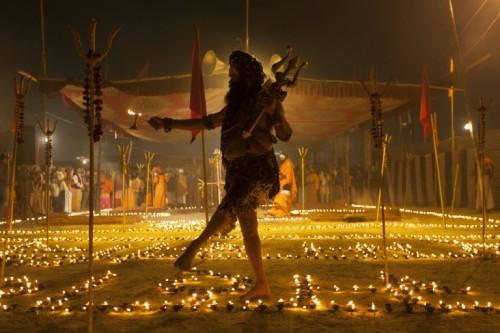 Shiv Yogi Moni Swami is among some 10 million Hindus who