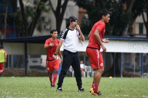 Pelatih Persija Jakarta Stefano Cugurra (kaus putih) (Dok.