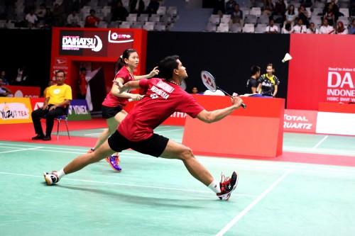 Ricky/Debby sukses maju ke babak kedua Indonesia Masters