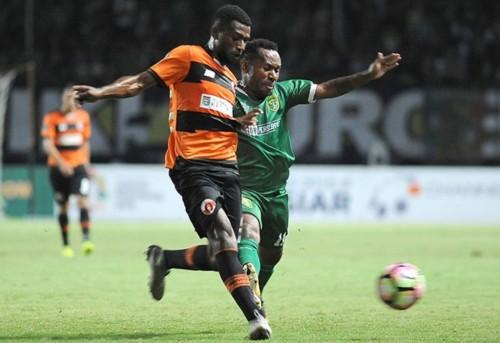 Laga Persebaya kontra Perseru (Dok. Piala Presiden)