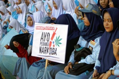 20 Ribu Pelajar Jepara Deklarasikan Antinarkoba