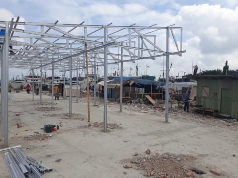 Shelter Kampung Akuarium Bisa Dihuni 128 Keluarga