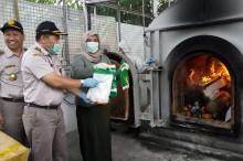 Benih Kedelai Bervirus Asal Taiwan Dimusnahkan