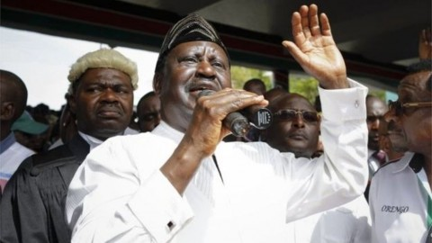 Raila Odinga Klaim Dirinya sebagai Presiden Kenya