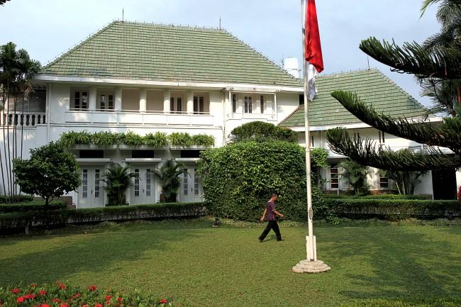 Rumah Dinas Gubernur DKI Jakarta. Foto: Antara/M. Adimaja.