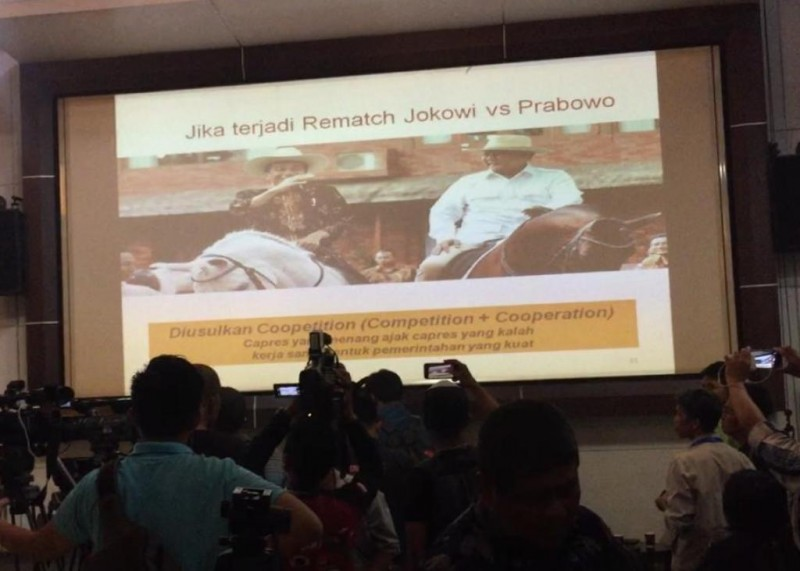 Ilustrasi--Suasana Jumpa Pers Lingkaran Survei Indonesia (LSI)--Medcom.id/Dhaifurrakhman Abas