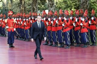 France's Macron, Rihanna Lead Global Education Funding Drive