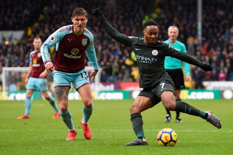 Man City Tertahan di Markas Burnley