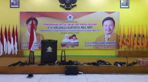 Nyono Ditangkap KPK, DPP Tunjuk Gatot Sudjito Plt Ketua Golkar Jatim