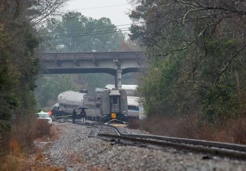 Kecelakaan Kereta Amtrak di AS, 2 Tewas dan 116 Terluka