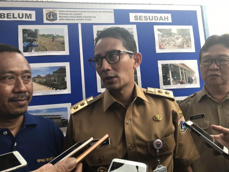 Wakil Gubernur DKI Jakarta Sandiaga Uno - Medcom.id/Haifa Salsabila
