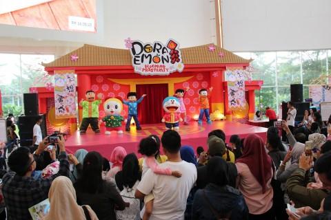 Lucunya Pertunjukan Doraemon di Summarecon Mal Bekasi