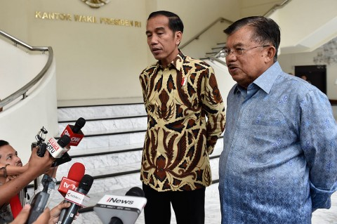 Jokowi-JK Makan Siang Bareng, Sejumlah Hal Dibahas