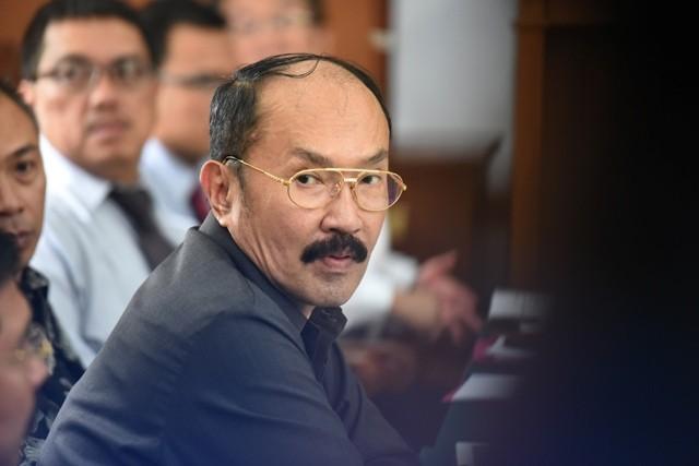 Fredrich Yunadi. Foto: Antara/Hafidz Mubarak