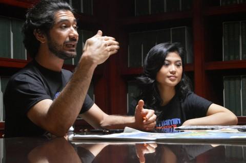 Delia Husein Gugup Setengah Mati Adu Akting dengan Reza Rahadian