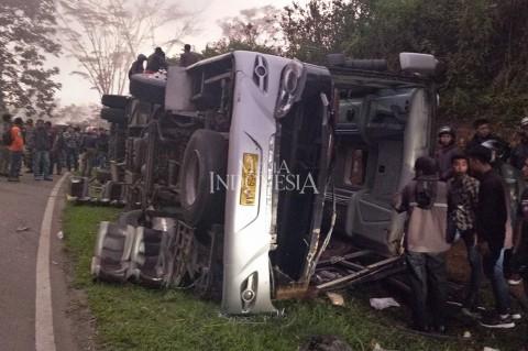Kecelakaan Maut di Subang Diduga Rem Blong
