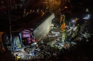 Kepolisian Hong Kong Selidiki Kecelakaan Maut Bus Tingkat
