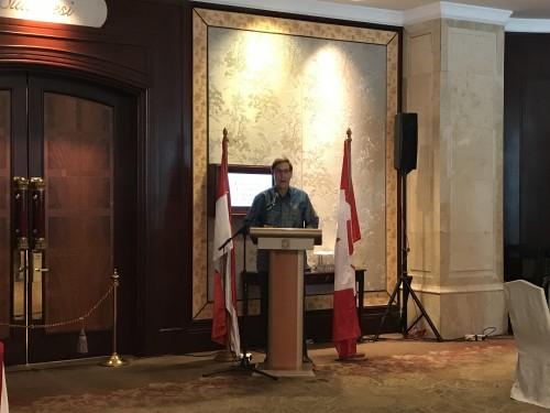 Duta Besar Kanada untuk Indonesia Peter MacArthur/Medcom.id/Haifa