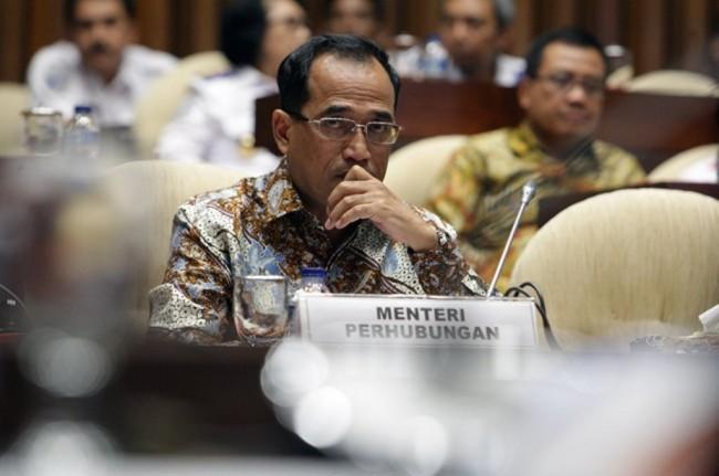 Menteri Perhubungan Budi Karya Sumadi (MI/SUSANTO)
