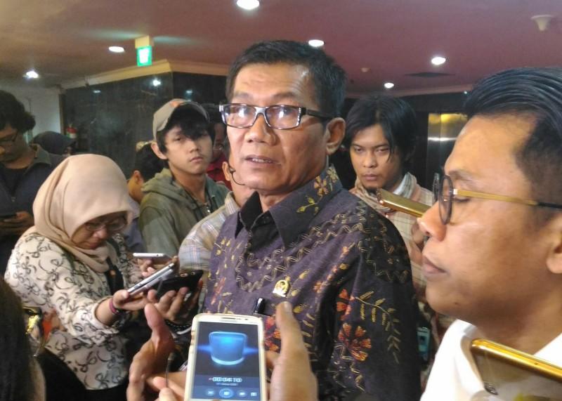 Anggota DPR Agun Gunandjar - Medcom.id/Ilham Wibowo.