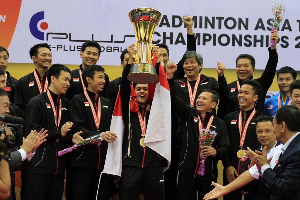 Tim putra Indonesia sukses mempertahankan gelar BATC (Foto: PBSI)