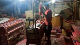Jelang Imlek, Pengrajin Lilin di Tangerang Kebanjiran Order
