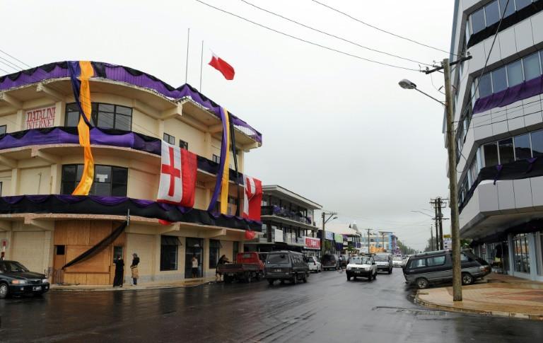 Tonga's capital Nuku'alofa was preparing for Severe Tropical Cyclone Gita and evacuation centres were opened across the kingdom. (Photo:AFP/Torsten Blackwood)