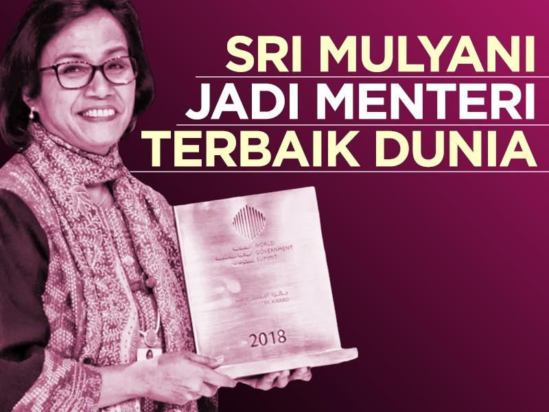 Infografis: Sri Mulyani Jadi Menteri Terbaik Dunia